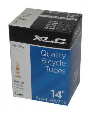 "XLC Boxed Tube 14"" x 2.125"" Schrader Valve"