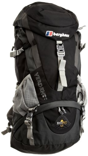Berghaus Verden 45+8 hiking bag jet black/coal grey/black