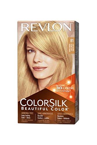 Revlon Colorsilk Haircolor, Light Blonde, 1-Count (Pack of 3)