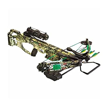 PSE Fang 350 XT Mossy Country Crossbow Package with 4X32 MR Scope