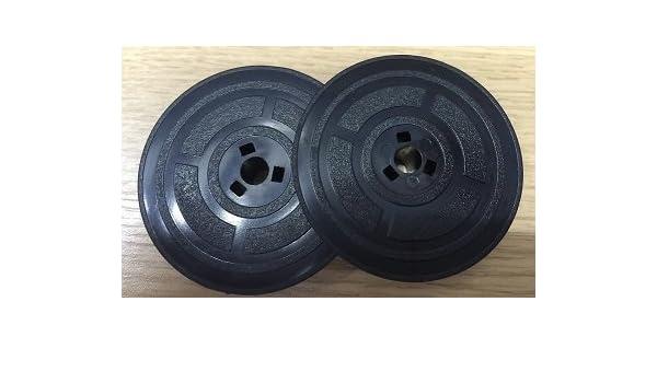 Olivetti Linea 88 Linea 98 logotipos tinta 250 cintas máquina Twin carretes, color negro: Amazon.es: Oficina y papelería
