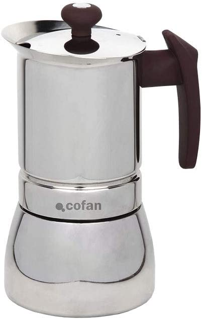 Cafetera Acero INOX Mod.Constanza: Amazon.es: Hogar