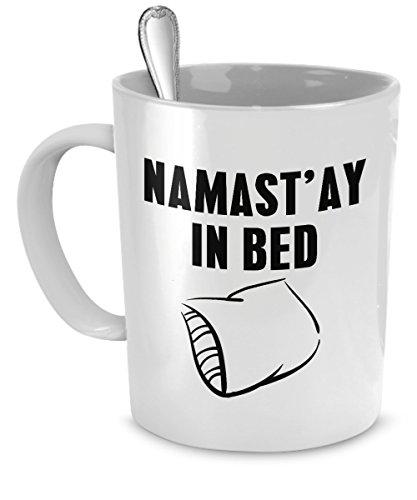 Namastay Bed Mug Namaste Ceramic product image