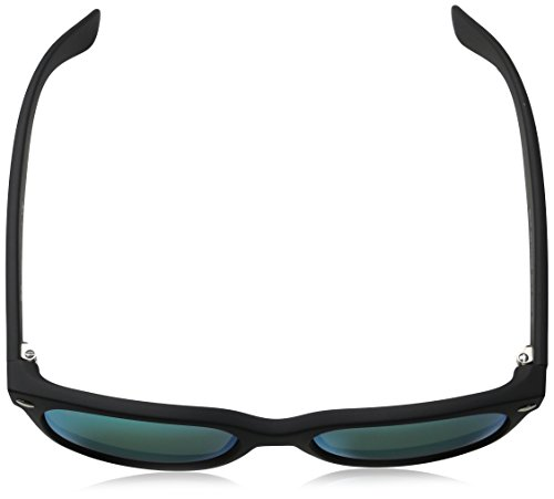 mm Ray Grey Soleil 55 Noir Wayfarer Green Black New Lunettes Rubber de Wayfarer RB2132 Ban zf1rz