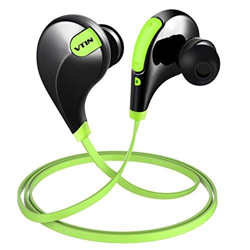Vtin Bluetooth Auriculares Inalámbricos, con Ruido Reducido y Tecnologia APTX, Auriculares de Deportes Inalámbricos para...