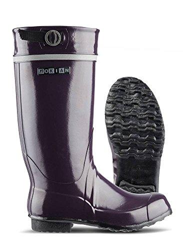 Nokian Footwear Kontio Classic - Botas de goma para hombre ciruela