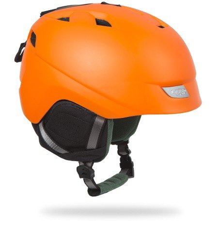 Lazer Effect Winter Helmet: Fluoresecnt Orange LG
