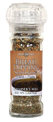 Dean Jacob's Bread Dipping Seasonings, Glass Grinder