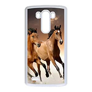 Beautiful Designed With Horse Theme Phone Shell For LG G3