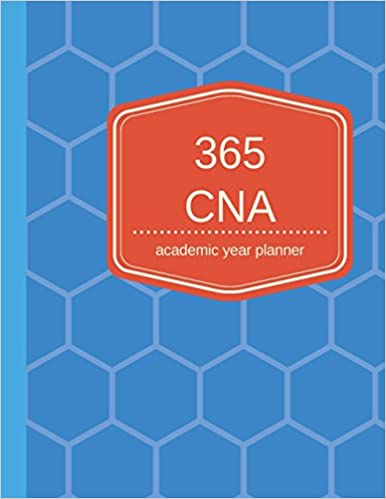 buy 365 cna academic year planner daily planner for college book