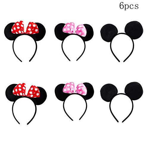 Different Minnie Mouse Costumes - TTBD 6 Pcs Mickey Minnie Mouse