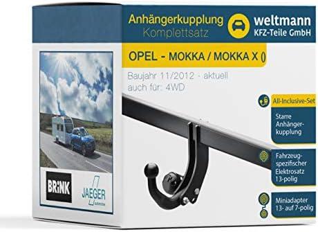 Gancio di traino Starr per OPEL MOKKA 2012