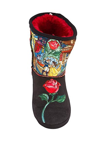 Bootie with and Beauty House Tale The Beast Adult Image JUMP Slippers Disney Fairy Classic BwZqF6p