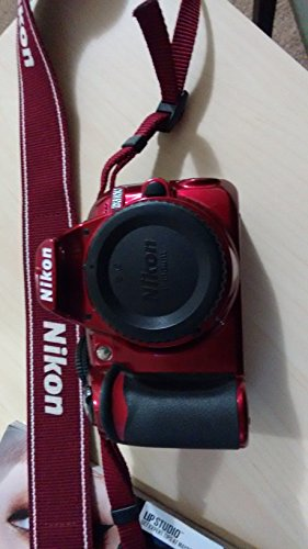 Nikon D3100 Body - Nikon D3100 Digital SLR Camera Body (Red)
