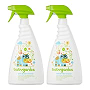 Babyganics Stain & Odor Remover, 32 Ounce, 2 Pack
