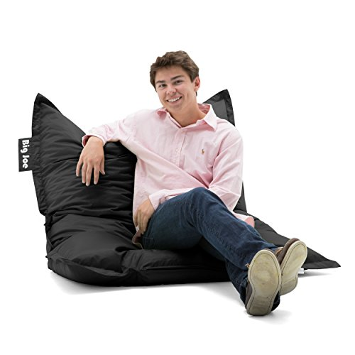 Big Joe Original Bean Bag Char, Stretch Limo Black