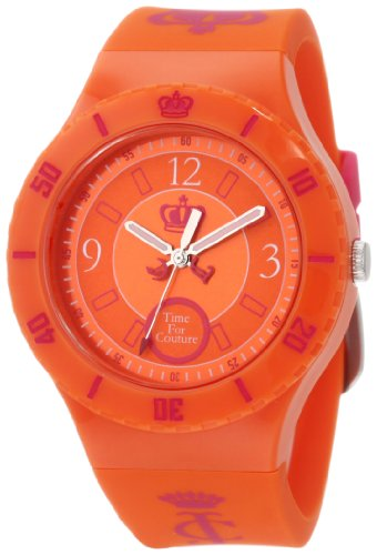 (Juicy Couture Women's 1900852 Taylor Orange Jelly Strap)