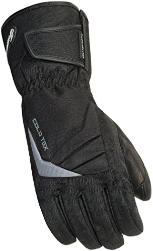 TourMaster Women's Cold-Tex 3.0 Motorcycle Gloves (Black, - Gloves Cold Tex Black