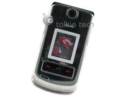 Two Piece Plastic Phone Protector Case Cover For LG VX8600