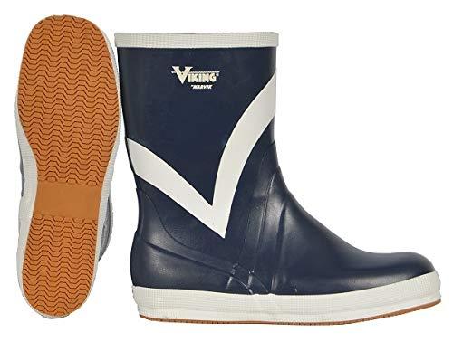 Viking Footwear Mariner Kadett Waterproof Slip-Resistant Boot,Navy,14 M US