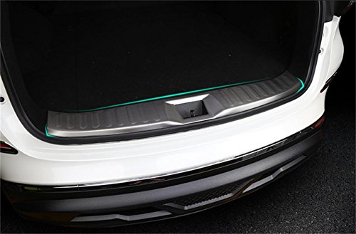 Vesul Stainless Steel Inner Inside Rear Bumper Protector Step Panel Cover Plate For Nissan Murano 2015 2016