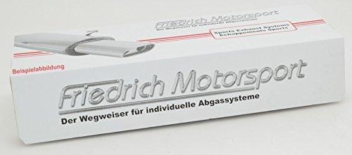 Material Tuning-Pro Friedrich Motorsport F/ächerkr/ümmer Artikel-Nr.FMVWFK02 Edelstahl