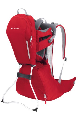 vaude-wallaby-child-carrier-red