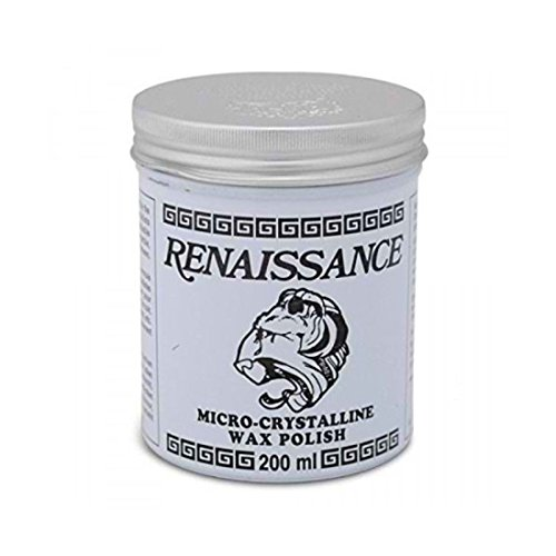 - NEW Renaissance Wax 200ml, Protects Furniture, Leather, Marble, Metal, & Paintings