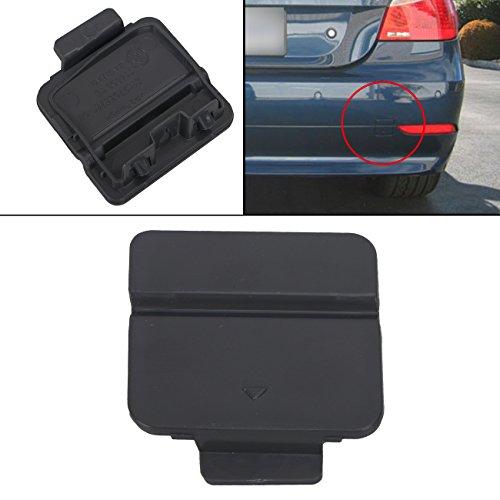 Kawayee For BMW E60 E61 525i 528i 530i 530xi 540i Plastic Rear Bumper Tow Hook Cover Cap (540i Bumper)