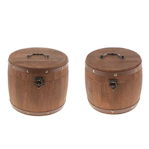 wood barrel storage - 9