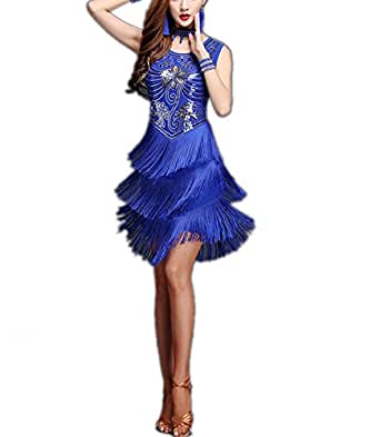 Amazon Com Fringe Beaded 20 S Roaring Twenties Fashion