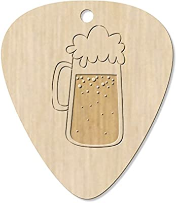 Azeeda 7 x Cerveza Guitarra Púa (GP00003389): Amazon.es ...