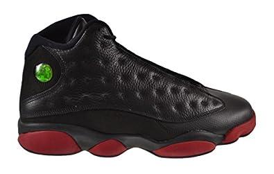 Air Jordan 13 Retro Men\u0026#39;s Shoes Black/Gym Red-Black 414571-003