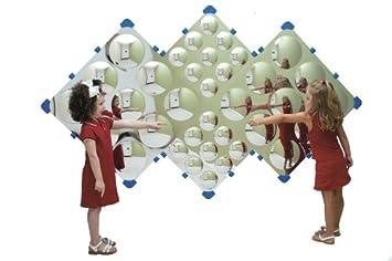 childrens factory cf332573 diamond bubble mirror - Childrens Factory