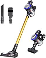 Dibea D18 Lightweight Cordless Stick Vacuum Cleaner, 9000pa Powerful Suction Bagless Rechargeable 2 in 1 Handheld Car...