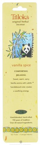 Triloka Incense Vanilla Breeze, 10 CT