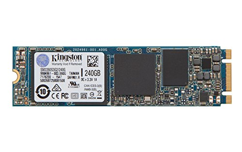 Kingston Digital 240GB SSDNow M.2 SATA 6Gbps (Single Side) SM2280S3G2/240G