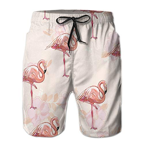 SARA NELL Men's Board Shorts Leo Swim Trunks 3D Print Graphic Beach Shorts Bathing Suits