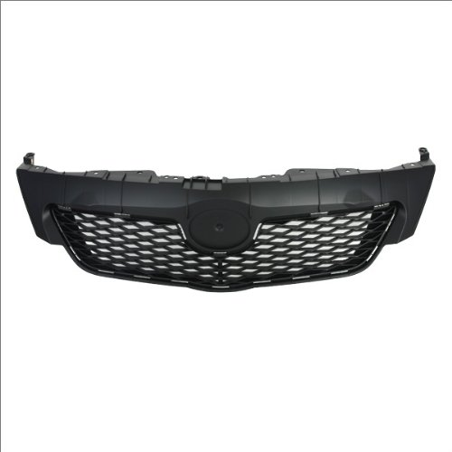 CarPartsDepot 400-44541, Front Grille Grill Assembly Replacement New Usa Built Black (Toyota Corolla Grill 2009 compare prices)