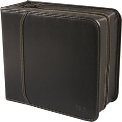 System Patented Binding (Case Logic KSW-320 Koskin 336 Capacity CD/DVD Prosleeves Wallet (Black))