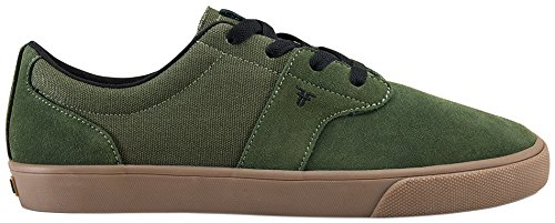 Fallen Men's FA-Chief XI Skateboarding Shoe, Surplus Green/Gum, 8 M US