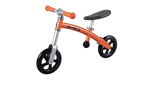 Micro G-Bike + Alu - bicicleta Naranja 200 mm ruedas, New: Amazon.es: Deportes y aire libre