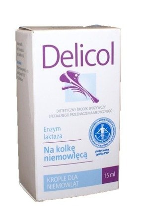 Delicol Babies Dietary Supplement - drops 15ml by Aflofarm