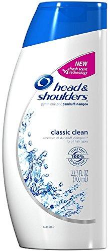 Head & Shoulders Classic Clean Dandruff Shampoo, 23.7 oz (Pack of 3)