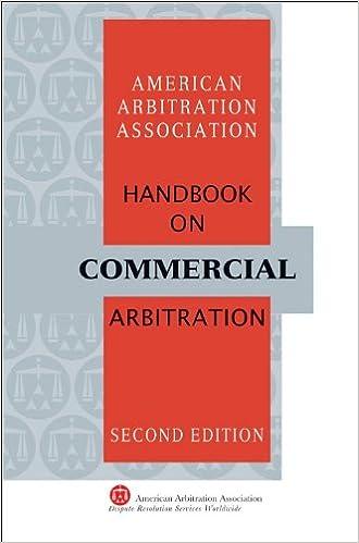 Amazon aaa handbook on commercial arbitration 2nd edition aaa handbook on commercial arbitration 2nd edition 2nd edition fandeluxe Images