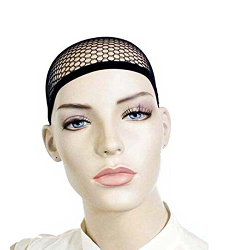 Free Wigs Cheap Shipping (SuperWigy® High Quality Cheap Sale Black Mesh Net Wig Cap Liner Free)