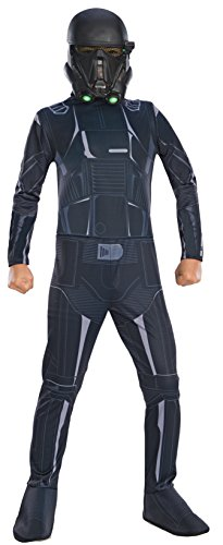 [Rogue One: A Star Wars Story Child's Death Trooper Costume, Small] (Hera Costumes)