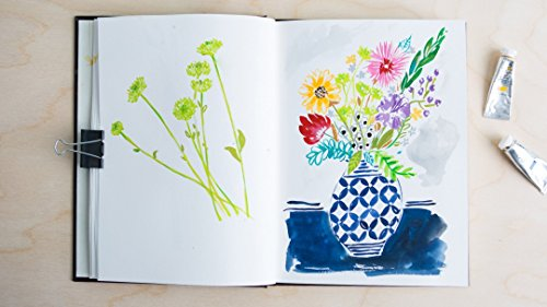 Illustrative Painting with Gouache (Paintings Artists Floral)