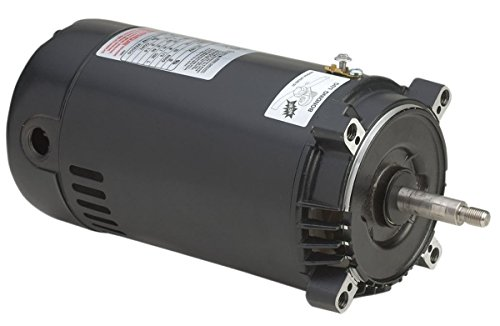 1-1/2 HP, 19.6/10.4-9.8 Amps, 1.5 Service Factor, 56J Frame, Capacitor Start/Capacitor Run, ODP Enclosure, C-Face Pool Motor - A.O. Smith ST1152