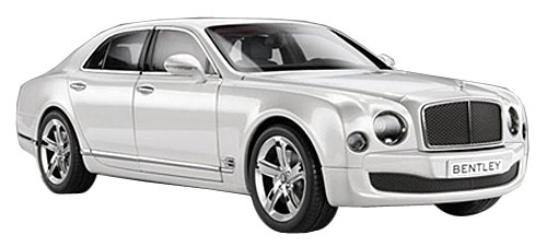 2014 Bentley Mulsanne Speed Ghost White 1:18 Kyosho 08910GHW